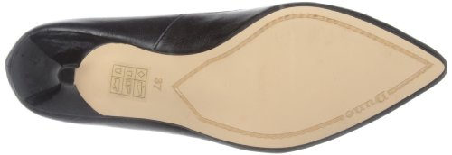 e1c7d1af46c Dune Womens Aggie Pointed Toe And Bow Kitten Heel Court Shoe Black 5 ...