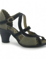 Fly-London-Pink-Mary-Jane-Khaki-Black-Womens-Shoes-Size-40-EU-0