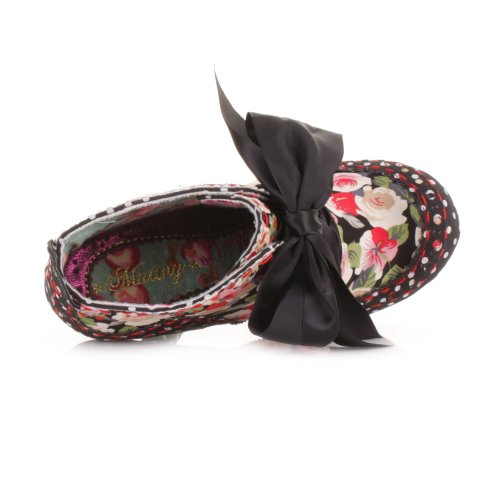 Irregular-Choice-Abigails-Party-Black-Floral-Boots-SIZE-5-1
