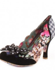 Irregular-Choice-Beach-Trip-Black-Multi-Court-Shoe-SIZE-4-EU37-US6.5-0