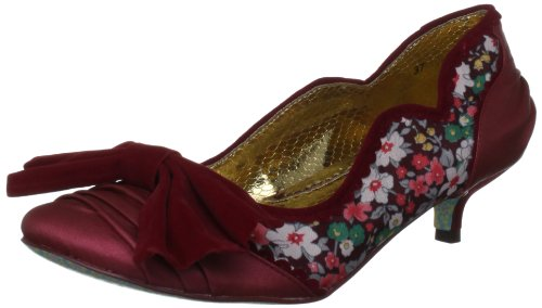 0bf3a1b54d06 Irregular Choice Women s Blue Clouds Red Mary Janes 2654-71B 5 UK ...