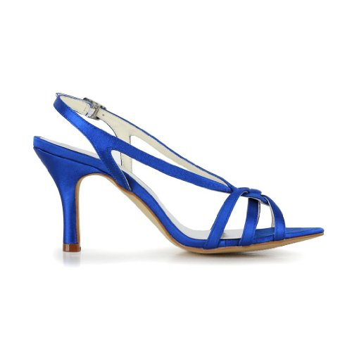 Jia-Jia-Womens-Satin-Kitten-Heel-Open-Toe-Party-Prom-Bridal-Evening-Wedding-Sandals-With-Knot-Color-Blue-Size-EU37UK5-2