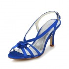 Jia-Jia-Womens-Satin-Kitten-Heel-Open-Toe-Party-Prom-Bridal-Evening-Wedding-Sandals-With-Knot-Color-Blue-Size-EU41UK7-0