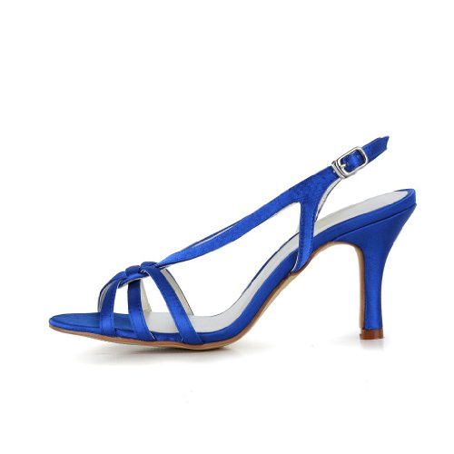 Jia-Jia-Womens-Satin-Kitten-Heel-Open-Toe-Party-Prom-Bridal-Evening-Wedding-Sandals-With-Knot-Color-Blue-Size-EU41UK7-2