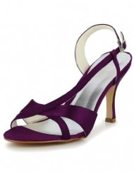 Jia-Jia-Womens-Satin-Kitten-Heel-Open-Toe-Party-Prom-Bridal-Wedding-Sandals-Color-Purple-Size-EU35UK4-0