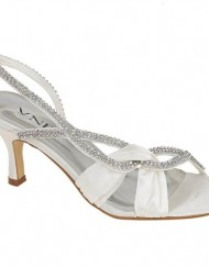 LADIES-LOW-HEEL-SLINGBACK-DIAMANTE-IVORY-SATIN-BRIDAL-BRIDESMAID-WEDDING-SHOES-0