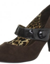Lunar-Womens-Brown-Mary-Janes-FLV542-6-UK-39-EU-0