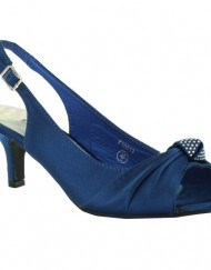 New-Ladies-Kitten-Heel-Bridal-Evening-Sandals-Womens-Shoes-Size-UK-3-4-5-6-7-8-Blue-UK-5-0