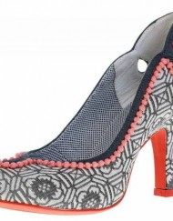 Ruby-Shoo-Miley-Grey-Pink-Pattern-Court-Shoes-0