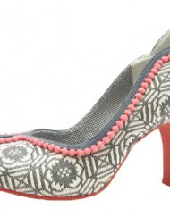 Size-4-Ruby-Shoo-Womens-Miley-Textile-Court-Shoes-0