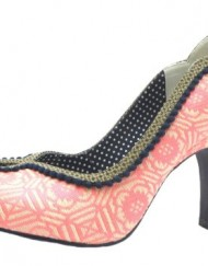 Size-5-Ruby-Shoo-Womens-Miley-Textile-Court-Shoes-0