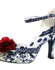 Size-6-Womens-Clara-Ruby-Shoo-Paisley-Blue-High-Heels-0