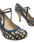 Size-7-Ruby-Shoo-Womens-Jessica-Textile-Mary-Janes-1