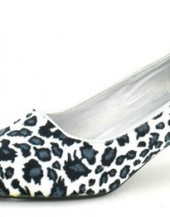Spot-On-Kitten-Heel-Leopard-Print-Court-White-Size-37-EU-0