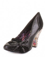 Womens-Irregular-Choice-Make-My-Day-Black-Shoes-SIZE-6-0