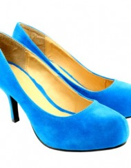 Womens-Mid-Heel-Kitten-Suede-Court-Shoes-Blue-0