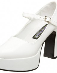 Heels-Club-St-Trinian-School-Girl-1970s-Fancy-Dress-Shoes-White-5-0
