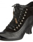 Hush-Puppies-Womens-Vivianna-Black-Leather-Mid-Heel-Ankle-Boots-UK-3-0