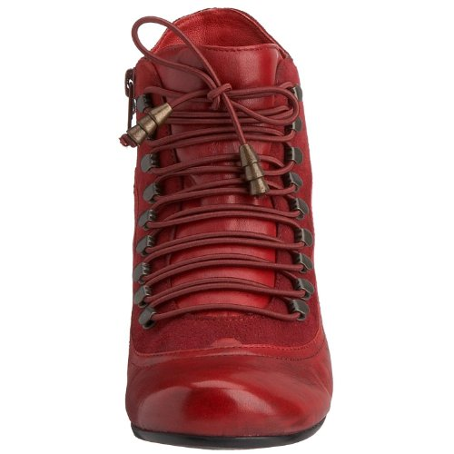 Hush-Puppies-Womens-Vivianna-Red-Leather-Mid-Heel-Ankle-Boots-UK-3-1