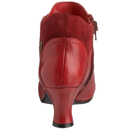 Hush-Puppies-Womens-Vivianna-Red-Leather-Mid-Heel-Ankle-Boots-UK-3-2