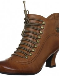 Hush-Puppies-Womens-Vivianna-Tan-Leather-Mid-Heel-Ankle-Boots-UK-5-0