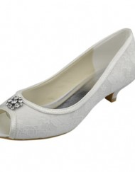 Minitoo-GYAYL014R-Womens-Kitten-Heel-Open-Toe-Ivory-Satin-Lace-Evening-Party-Bridal-Wedding-Sparkle-Shoes-Sandals-5-M-UK-0
