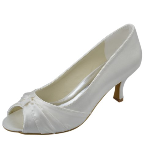Minitoo-GYAYL068-Womens-Kitten-Heel-Open-Toe-Ivory-Satin-Evening-Party-Bridal-Wedding-Knot-Shoes-Sandals-2-M-UK-0