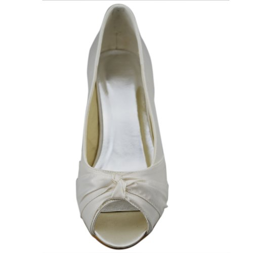Minitoo-GYAYL068-Womens-Kitten-Heel-Open-Toe-Ivory-Satin-Evening-Party-Bridal-Wedding-Knot-Shoes-Sandals-2-M-UK-2