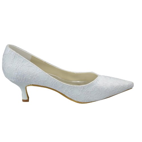 Minitoo-GYAYL270-Womens-Kitten-Heel-Closed-Toe-White-Lace-Evening-Party-Bridal-Wedding-Shoes-Pumps-7-M-UK-2