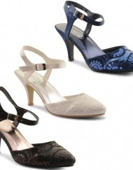 New-Ladies-High-Heel-Slingback-Sequin-Buckle-Sandals-Shoes-Size-UK-3-8-Navy-UK-4-0