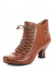 Womens-Hush-Puppies-Vivianna-Tan-Leather-Boots-SIZE-6-0