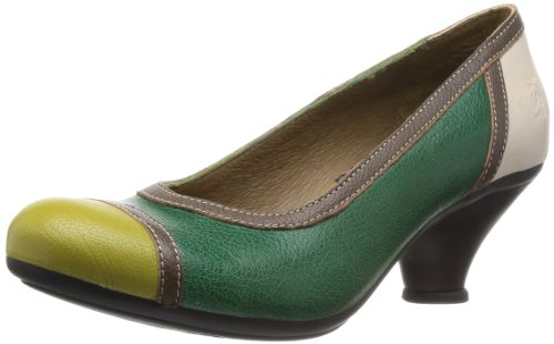 5916494a883 Fly London Women s Faim Court Shoes P143008003 Green 5 UK