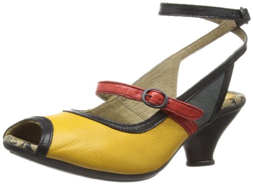 63abc4f0b5f Fly London Women s Fall Fashion Sandals P143065001 Mustard 7 UK