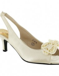 New-Ladies-Kitten-Heel-Bridal-Evening-Sandals-Womens-Shoes-Size-UK-3-4-5-6-7-8-Ivory-UK-6-0