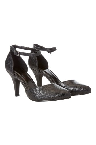 Roman-Originals-Womens-Footwear-Snake-Print-Court-Shoe-Pointed-Toe-Heeled-Court-Shoe-Classic-Stylish-Closed-Toe-Comfortable-Casual-Smart-Office-Work-Wear-Party-Going-Out-Special-Occasion-Snake-Texture-Printed-Ladies-Shoes-Black-Size-6-0
