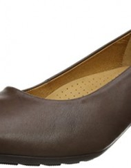 Gabor-Womens-Brambling-Court-Shoes-92.120.25-Brown-Leather-4.5-UK-37.5-EU-0
