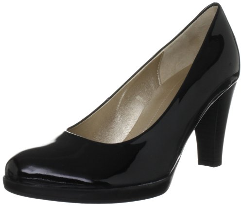 Gabor-Womens-Soria-P-Court-Shoes-85.220.97-Black-5-UK-38-EU-0