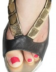 TED-BAKER-Jet-Black-All-Leather-Leather-Soles-Peep-Toe-Shoes-Sandals-Size-6-Eu39-1
