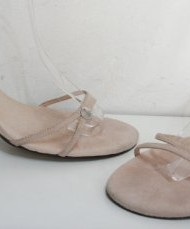 TED-BAKER-Nude-Pink-Suede-Leather-Open-Shoes-Sandals-Size-7-Eu40-0