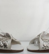 TED-BAKER-White-Studded-Slinback-Shoes-Sandals-Size-6-Eu-39-0