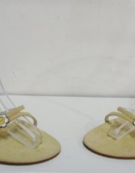 TED-BAKER-Yellow-Suede-Leather-Open-Shoes-Sandals-Size-7-Eu40-0