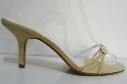 TED-BAKER-Yellow-Suede-Leather-Open-Shoes-Sandals-Size-7-Eu40-1