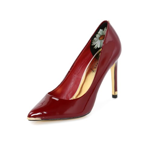 Ted-Baker-Neevo-Dark-Red-Court-Shoes-UK-6-0