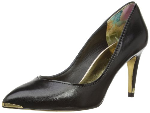 1fb68f226 Ted Baker Womens Mitila Court Shoes 913007 Black 5 UK