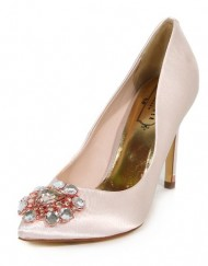 Ted-Baker-Womens-Torela-Satin-Jewel-Encrusted-High-Heel-Court-Shoe-Nude-Size-5-0