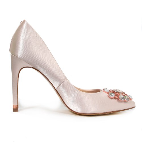 Ted-Baker-Womens-Torela-Satin-Jewel-Encrusted-High-Heel-Court-Shoe-Nude-Size-8-2