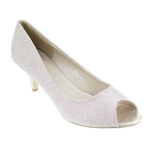 Aarz-Women-Evening-Courts-Low-Kitten-Heel-Open-Toe-Sandals-Wedding-Party-Shoes-SizeSilverGoldChampagne-7-Champagne-0