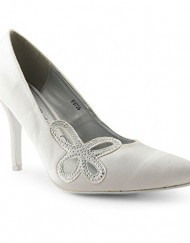 New-Ladies-High-Low-Kitten-Heel-Mary-Jane-Diamante-Satin-Sandals-Shoes-UK-Size-3-8-F9736-White-UK-4-0