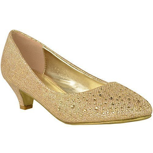 WOMENS-LADIES-LOW-KITTEN-HEELS-COURT-SHOES-OPEN-TOE-WEDDING-DIAMANTE-PARTY-SIZE-0